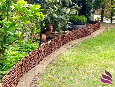 Drewniany Plot 25 Wymiarow Palisada Obrzeze 40x10 6435647141 Oficjalne Archiwum Allegro