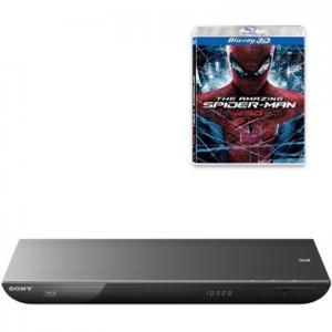 SONY BLU-RAY BDP-S490+SPIDERMAN W 3D+HDMI,GW.FVAT