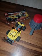 Lego 7968 Racers cars z wyrzutnią pąpką