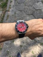 TAG Heuer - RED / Formula 1 / bransoleta + pasek