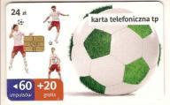 nr 22KP - Karta 60 + 20 gratis Zielona piłka II