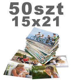 50 odbitek 15x21cm w promocyjnej cenie Fuji CA