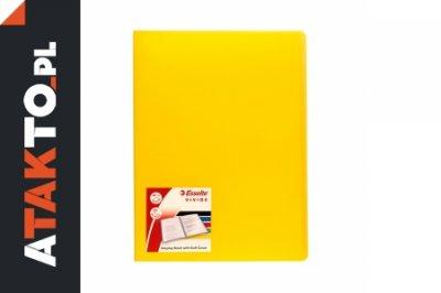 Album ofertowy A4/20 żółty Vivida Esselte
