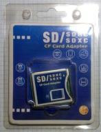 Adapter CF SD / SDHS / SDXC
