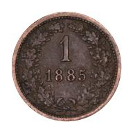 1 krajcar 1885 Austria st.III