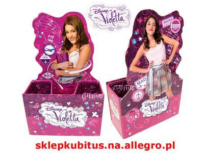 Violetta Pojemnik Na Przybory Szkolne Nowosc 3777436854 Oficjalne Archiwum Allegro