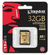 Kingston GOLD SDHC 32GB Class10 Ultimate 90MB/s