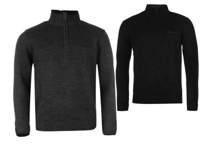 Pierre Cardin Sweter DUŻY ROZMIAR 5XL - Charcoal