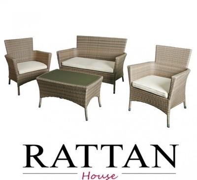 Meble Ogrodowe Tarasowe Rattanowe Ratan Atessa 5120996388