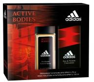 ADIDAS ACTIVE BODIES EDT 100ml + DEZODORANT 75ml