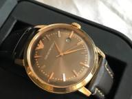 Pozłacany zegarek Emporio Armani - niesprawny