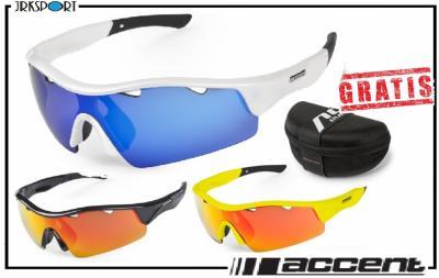 ACCENT okulary sportowe STINGRAY wymienne soczewki