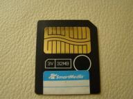 używana karta SmartMedia OLYMPUS 32MB