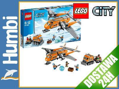 Lego City 60064 Arctic Arktyczny Samolot Dostawczy 4916107716