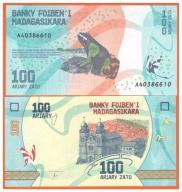MADAGASKAR - 100 ARIARY - 2017 - UNC