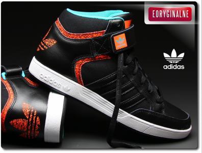 Buty męskie Adidas Varial Mid F37494 Czarne,NEW