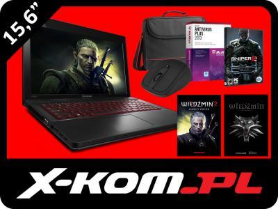 Laptop LENOVO Y510P i7 8GB 1TB 750M SLI Win7+380zł