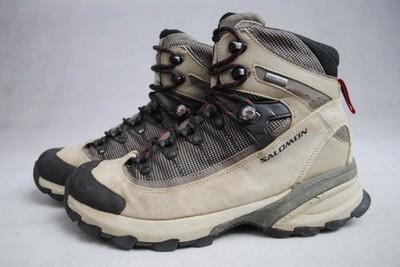 SALOMON skórzane buty trekkingowe GORE TEX 40