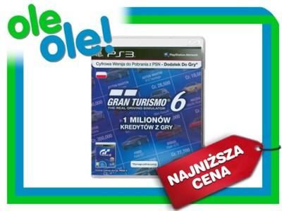Karta Doladowujaca Gran Turismo 6 1 Mln Kredytow 6611957121
