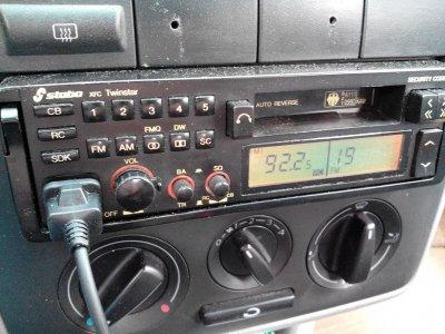 STABO TWINSTAR XRC 3w1-CB,radio UKF/MW CB, odtw