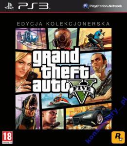 Grand Theft Auto V Edycja Kolekcjonerska PS3 GTA 5