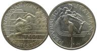 8.WŁOCHY, 500 LIRÓW 1987 BIEGI ...