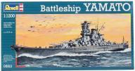 Model do sklejania REVELL Battleship Yamato 05813