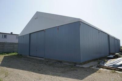 Hala magazynowa namiotowa 15x25 - 375m2