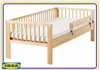 Rama łóżka Dziecięcego Gulliver 160x70 Cm Ikea 4639965827