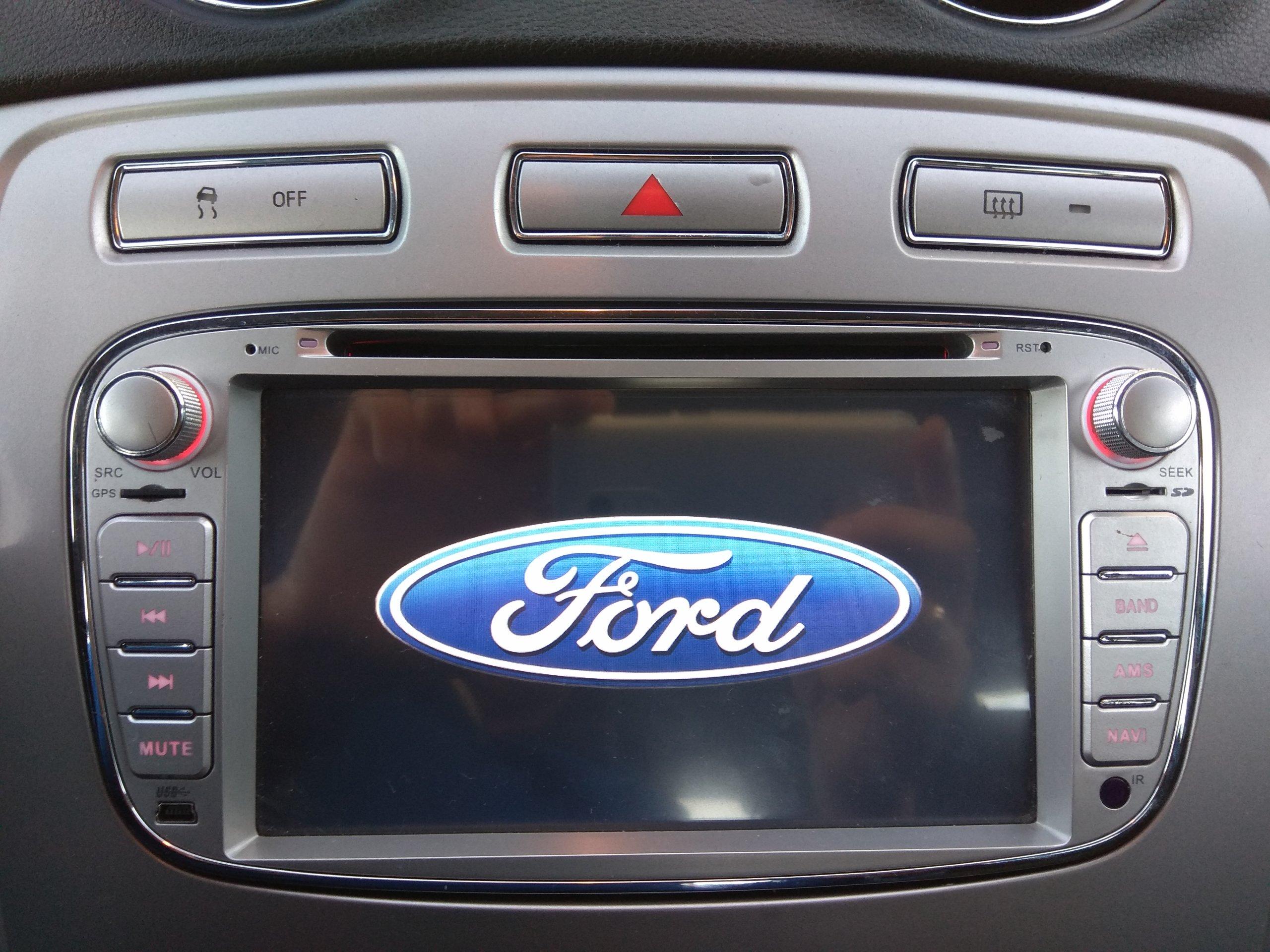 Zeer Radio GPS nawigacja Ford Mondeo Mk4 S-Max Galaxy - 7060586051  OF-99