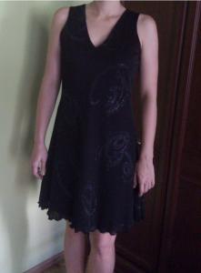 bd1b8effc0 Czarna sukienka 38 brokat cekiny studniówka wesele - 5914279891 ...