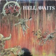 Slayer Hell Awaits 1 PRESS INSERT USA
