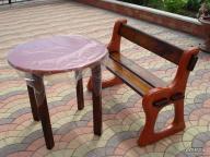 Forma do produkcji ławki z betonu
