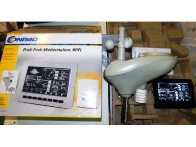Stacja pogodowa WiFi HP 1001, 868 MHz 100 m