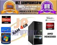 KOMPUTER QUAD CORE 4x3GHz 4GB AMD HD6550D 500W