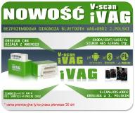 INTERFEJS V-SCAN IVAG BLUETOOTH ANDROID K+CAN+UDS