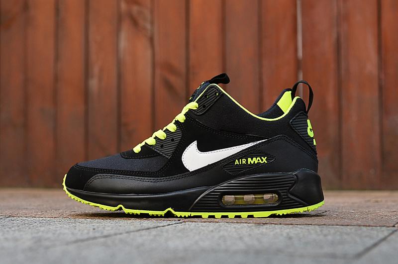 Nike Air Max 90 Winter Jesien Zima Czarne Neon Eu 7021907107 Oficjalne Archiwum Allegro