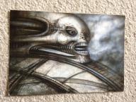 OBCY 12 szt. H.R. Giger Aliens Biomechanika