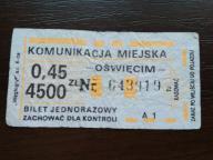 bilet u99 Oświęcim