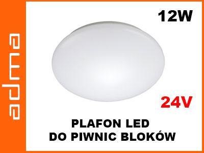 Oprawa Plafon Lampa Do Piwnicy Led 12w 24v 5855304010