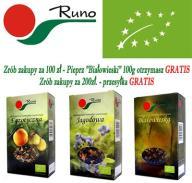 Runo EKOLOGICZNE herbaty owocowe 100g - 9 smaków