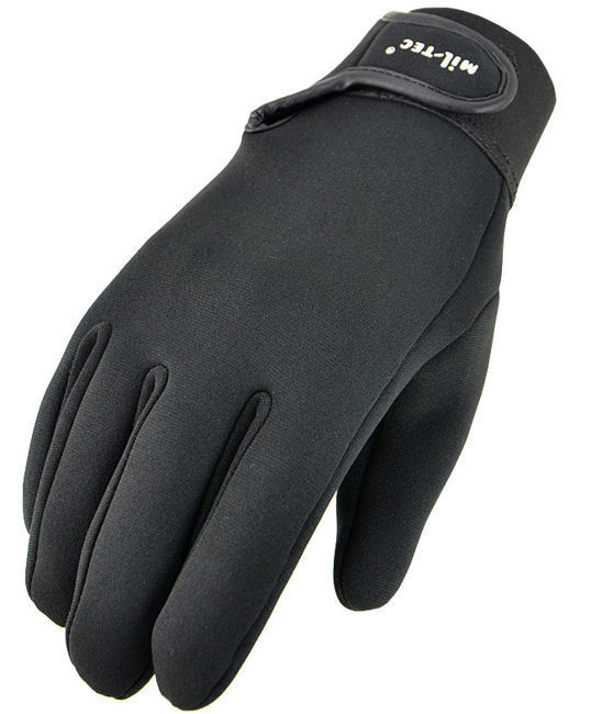 RĘKAWICE Rękawiczki Neopren NEOPRENOWE CZARNE L