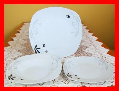 Serwis Obiadowy Kwadrat 6 Os 18 El Sx Zmywarka 6318020273