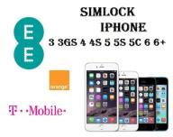 SIMLOCK IPHONE ORANGE EE T-MOBILE UK