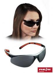 Okulary przeciwodpryskowe ochronne przycemniane