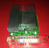 Palit 8500GT 512MB DDR2  NVIDIA GF pasywna