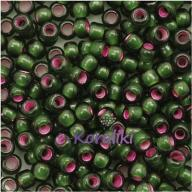 TOHO Silv-Lid Frosted Olivine-Pink 10g Round 8/0