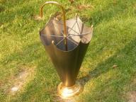 Parasolnik metalowy pojemnik na parasolki