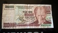 TURCJA 100 000 LIRA