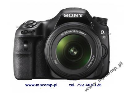 Sony Alpha 58 18 55 55 200 Akcesoria Profi 3793673735 Oficjalne Archiwum Allegro